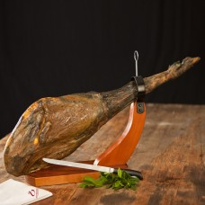 JAMON IBERICO BELLOTA (Hinterschinken mit Knochen)
